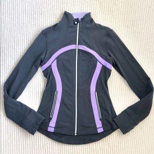 lululemon | Size 4 Zip Up Jacket | Gray & Purple!